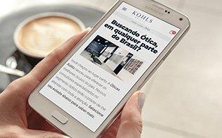 Lentes Kohls - Ótima Leitura no Celular