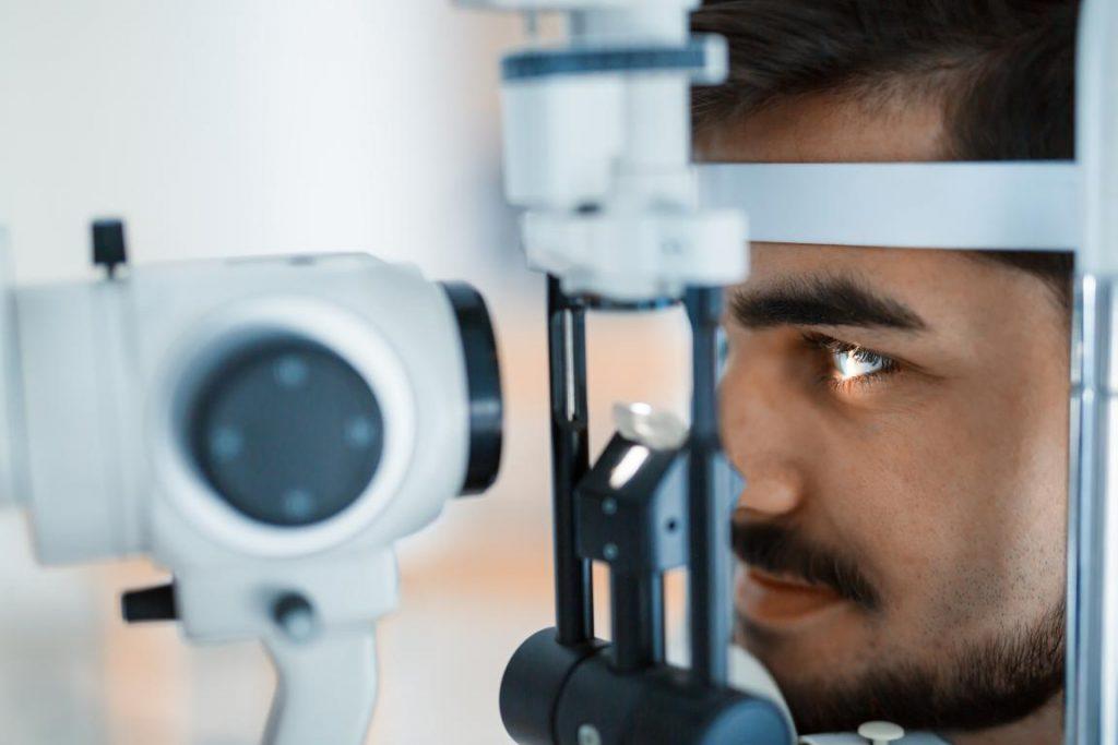 Teste de astigmatismo periódico - Óticas Kohls