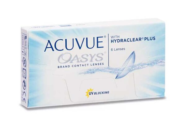 Lentes-Contato-Acuvue-Oasys-Hydraclear-Plus-Frente