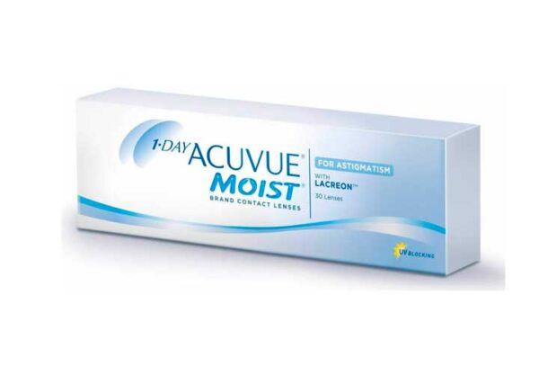 Lentes-de-Contato-1-DAY-Acuvue-Moist-Astimatismo-Frente