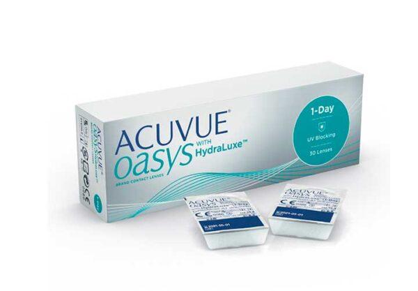 Lentes-de-Contato-Acuvue-1-Day-Oasys-Hydraluxe-Frente