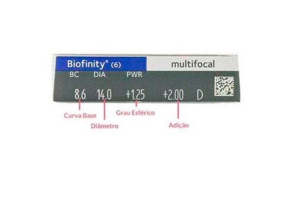 Lentes-de-Contato-Biofinity-Multifocal-Especificacoes