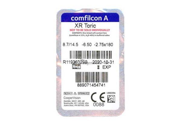Lentes-de-Contato-Biofinity-XR-Torica-para-Astigmatismo-Conteudo-Blister