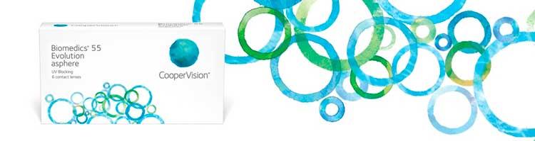 Lentes-de-Contato-Biomedics-55-Evolution-Banner