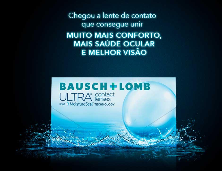 Lentes-de-Contato-ULTRA-Bausch-Banner